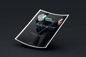GEM fest 2015: Dubfire poster