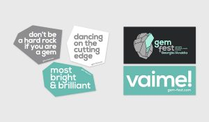 gem fest 2015 stickers