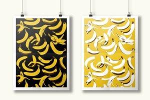 banana pattern kazantip 2014