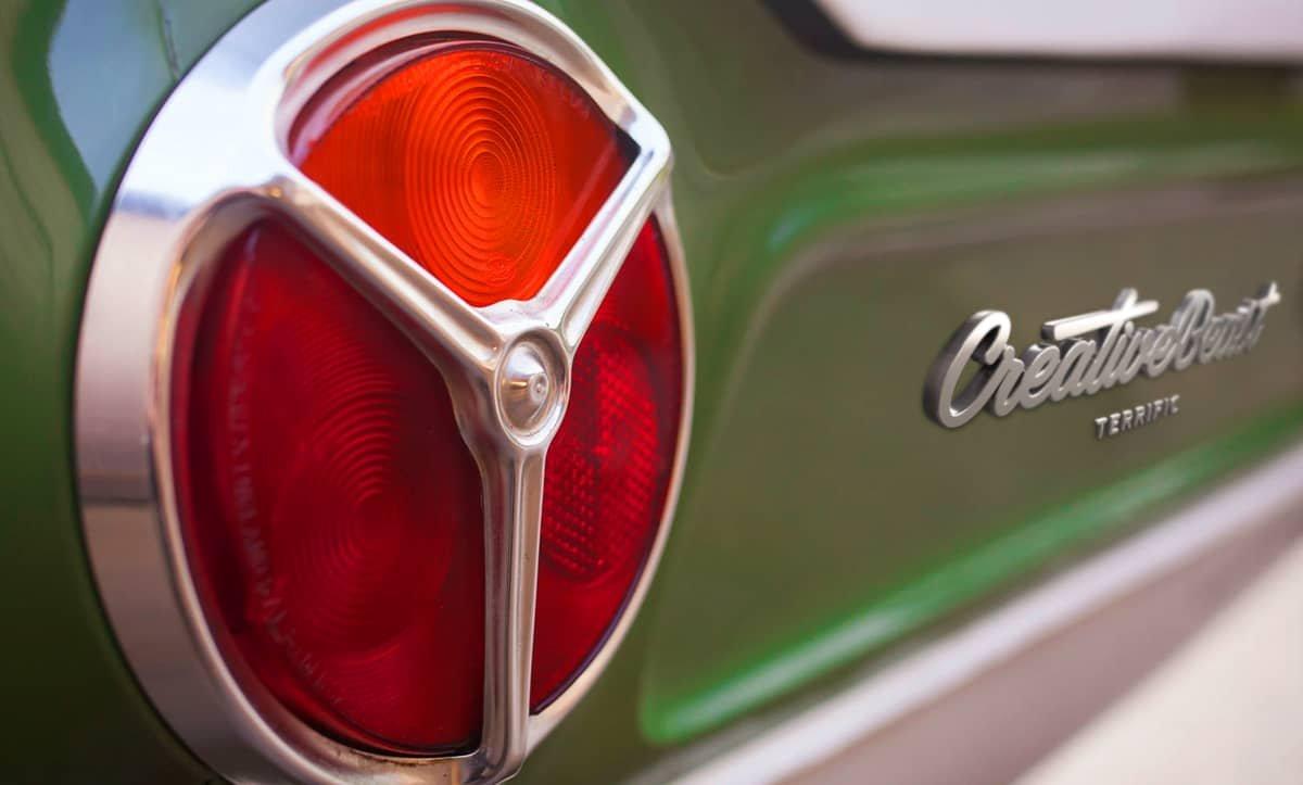 creative beast car hood mascot