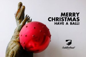 merry christmas have a ball!