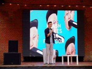 Doug Burnett at Connect Ukraine fest