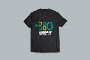 Connect Ukraine branded t-shirt